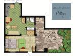 FLOOR PLAN of German Colony Cottage