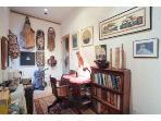 Desk in office / kitchenette