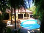 the Lush Tropical Private Garden