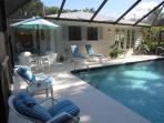 Captiva Mermaid Pool House  -  Beachside of Village Center