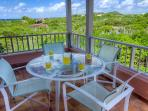 Dine on the veranda while taking in the views and enjoying the breezes.