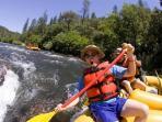 River rafting fun ( seasonal)!