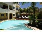 Pool in condo complex Playa Kaan