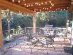 Covered Patio and BBQ grill