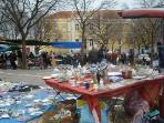 Surroundings:Flee market on tuesday and Saturday