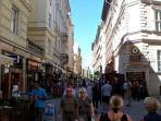 Vaci utca, 50 mt from home