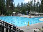 Family pool at rec center