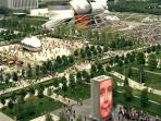 Our world famous Millennium Park.