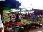 Local market 7 minute walk