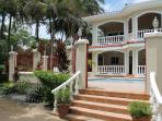 Descend your beachfront stairs, and 20 more steps you are in the Caribbean Sea