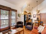 Tyra Aspen Living Area Breckenridge Lodging