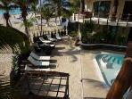 El Taj Ocean has beach pool and a more private pool in El Taj Beach