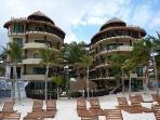 El Taj Ocean has its own private beach club for guests.JPG