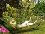 Oh yeah...relaxing hammock