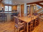 Dining Area has Room for Eight