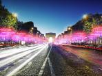 Famous Champs elysees