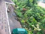 View into garden from Ohia Kai Hale
