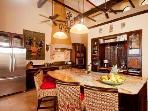 Luxury kitchen fully furnished