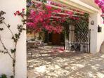 Villa Abela Front entry