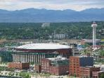 Pepsi Center Sports and Concerts and 6 Flags Park