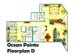 Most Popular Floor Plan - D Model W/2 Oceanfront Balconies