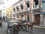 See the Historic Centro on a Horse and buggy ride just four blocks from the casa