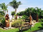 Beautiful Landscaping & Sculptures