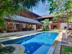 Beautiful, exotic gardens at Villa Windu Sari by Windu Villas