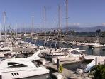 Marina in near by La Cruz