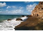 Black Sand Cove beach