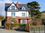 BRODAWEL HOUSE, pet friendly, luxury holiday cottage, with a garden in