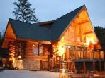 Dancing Bear Retreat Log Cabin