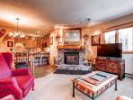 Woods Manor Living Room Breckenridge Lodging Vacation Rentals