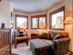 Woods Manor Master Sitting Area Breckenridge Lodging Vacation Re