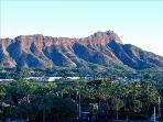 Another Magical Day in Paradise...Sunshine Dancing on the Slopes of Diamond Head...