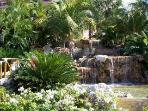 Gardens in front of Resort