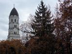 Church of St. Josef near Ljubljana Castle