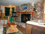 Cabin 21, Guys you will be a hero, King beds Fireplaces spas, Les than 100 at CabinsForLess