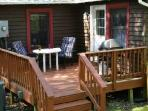 Relax on this back deck