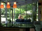 Sunroom & bar