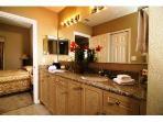 En Suite Bathroom with Granite Tops