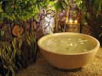 private garden bath
