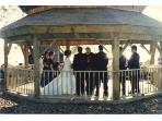 ceremony in gazebo