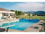 Clubhouse pool--heated and open all year & hot tubs