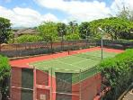 Lighted Tennis court, available to all guests :)