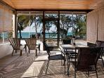 Ocean view from your spacious screened patio