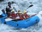 Enjoy private river rafting tours on the Savegre
