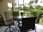 Large lanai with outstanding views