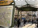 Abbesses Square and Metro Station (Line 12) at your doorstep