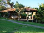 Outdoor Deck Casa Frangipani
